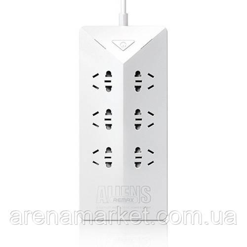 Мережевий фільтр Remax Aliens RU-S4 6 розеток + 5 USB – білий