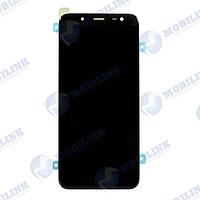 Дисплей Samsung J6 2018 J600F Чёрный Black GH97-21931A оригинал!