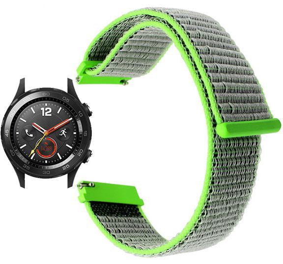 Нейлоновий ремінець для годинника Huawei Watch 2 - Green