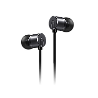 OnePlus Bullets V2 Black Проводные вакуумные Hi Fi наушники с гарнитурой и объемным звуком
