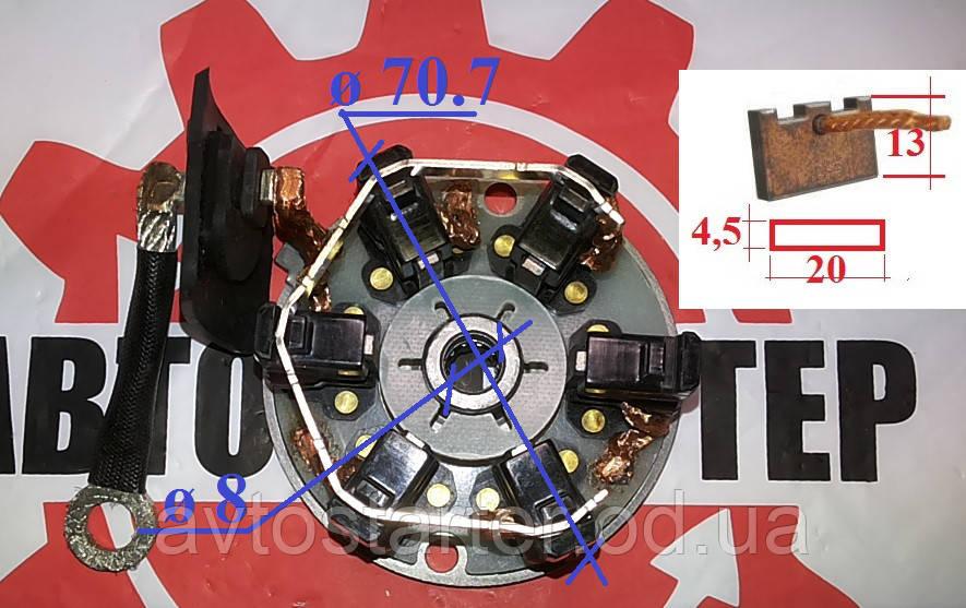 Щеточный узел для стартера Valeo start stop motor HYUNDAI 0.1751.1