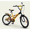 """Велосипед """"HUMMER"""" оранжевый с чёрным   16"""""""