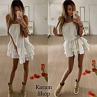 9636a37f06b Летние молодежные короткие платья сарафаны — купить недорого у ...