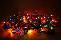 Новогодняя гирлянда multi 300 ламп 9 метров 8 режимов свечения