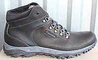 Ботинки мужские зимние больших размеров из натуральной кожи от производителя модель МВ-01
