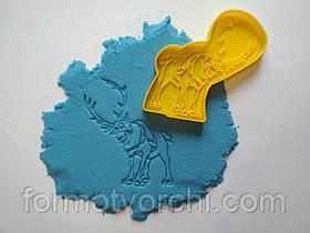 """3D формочки-вырубки для пряников """"Свен - олень.Холодное сердце"""""""