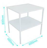 Столик для парового стерилизатора СДС-1, стол приборный медицинский, столик приборный для автоклава