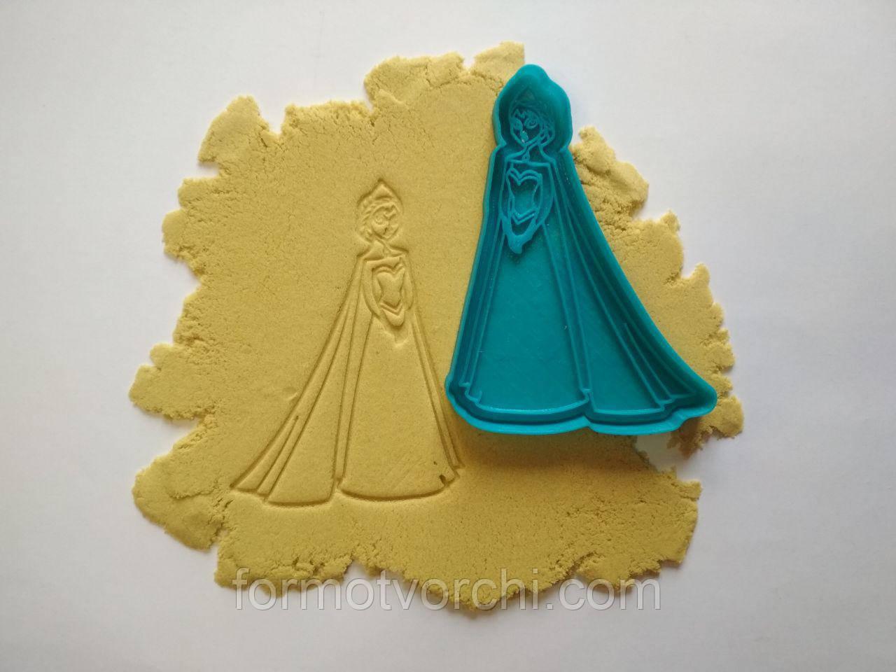 "3D формочки-вырубки для пряников ""Эльза.Холодное сердце"""