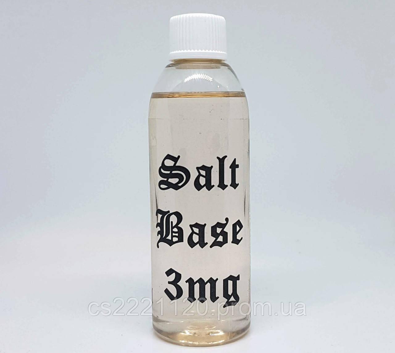 Солевая база (Salt base) 3 mg/ml. 70/30 0.1л.