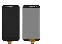 Дисплей (экран) для LG M250 K10 (2017)/X400 + тачскрин, черный