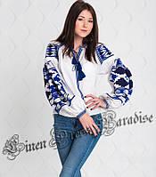 Купить украинскую вышиванку белую блузку (размер 38UA RU). Модель