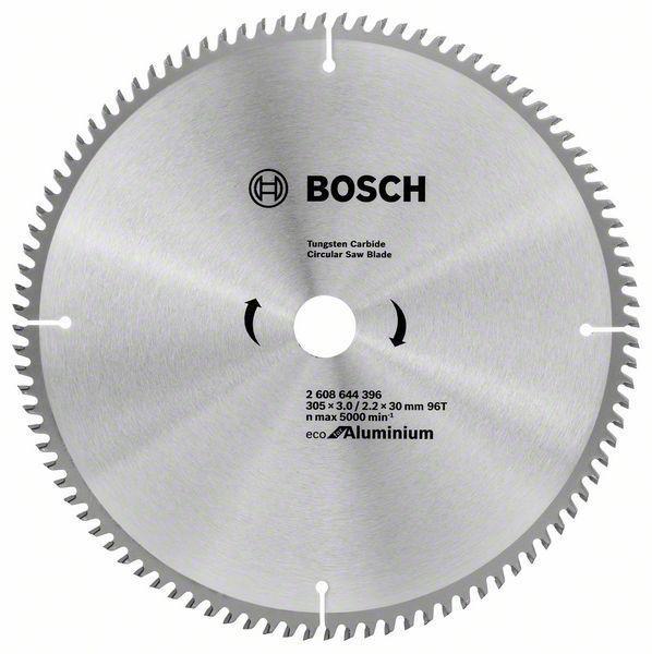 Циркулярний диск Bosch 305х30х96 Aluminium