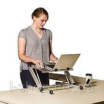 Столик для ноутбука UFT S3 Silver (ufts3silver), фото 2