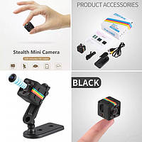 Мини камера, видеорегистратор SQ11 12MP Full HD 30fps*1080P Датчик движения