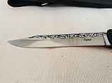 Нож Таран хром (рукоять эластрон), фото 8