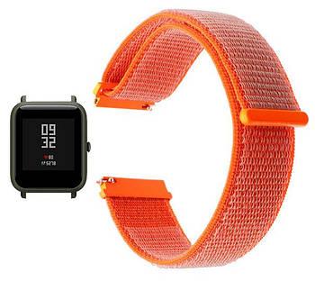 Нейлоновый ремешок Primo для часов Xiaomi Amazfit Bip/Amazfit Bip GTS/Amazfit Bip Lite - Orange