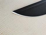 Нож Орлан 2 чёрный хром (рукоять эластрон), фото 7