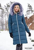 Теплое зимнее пальто женское Пелагея Нью вери (Nui Very) f312fae083cad