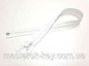 Молния спиральная разъемная №5 длина 60см цвет белый #501