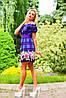 Цветочно-клетчатое летнее платье (0902-0903-0904-0905 svt), фото 6