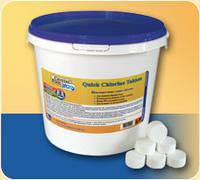 Хлор-шок для бассейна Quick Chlorine Tablets – 1 кг (табл.20г)