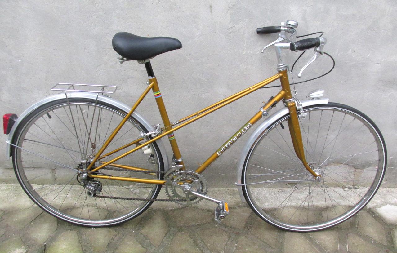 Велосипед дорожный St.Etienne -Cycles, спорт, дамка, 10 скор. 14 кг, И
