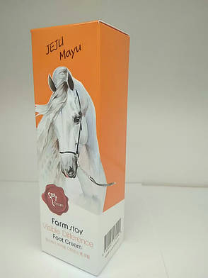Крем для ног с лошадиным маслом, 100ml FarmStay, фото 2
