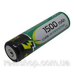 Аккумулятор Raymax 1500mAh 18650 (без упаковки) Li-Ion 3.7v