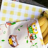 Торбинка для хлібобулочних виробів  35 см*35 см, фото 6