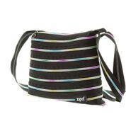 Сумка Zipit Medium цвет Black&Rainbow Teeth (черный)