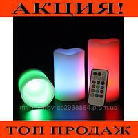 Лампы 3 свечи Luma Candles Color Changing!Хит цена