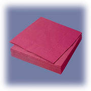 PROservice Серветки 33х33 двошарові червоні 50 шт (30 шт/ящ)