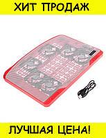 Охлаждающая подставка для ноутбука N138 F6!Спешите Купить