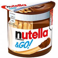 Ореховая паста Nutella Нутелла и хлебные палочки (Nutella&Go) 52 г