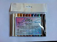 Полимерная глина Lema Metallic – набор 12 цветов, фото 1