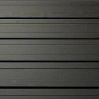 Доска | Панели вертикальные для фасада | Черный RAL 9005 | 0,5 мм | ArcelorMittal |