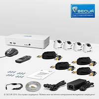 Комплект видеонаблюдения «установи сам» Страж Смарт-4 4К+ (КУ-700К-ИК-4)