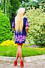 Легкое женское платье с тонким поясом (0923-0924 svt), фото 5