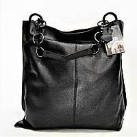 Стильная женская сумочка из кожи черного цвета NGN-779077, фото 1