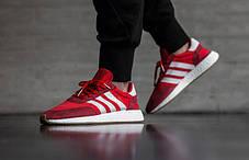 Женские кроссовки Adidas Iniki Runner (Red / Ftwr White / Gum), фото 3