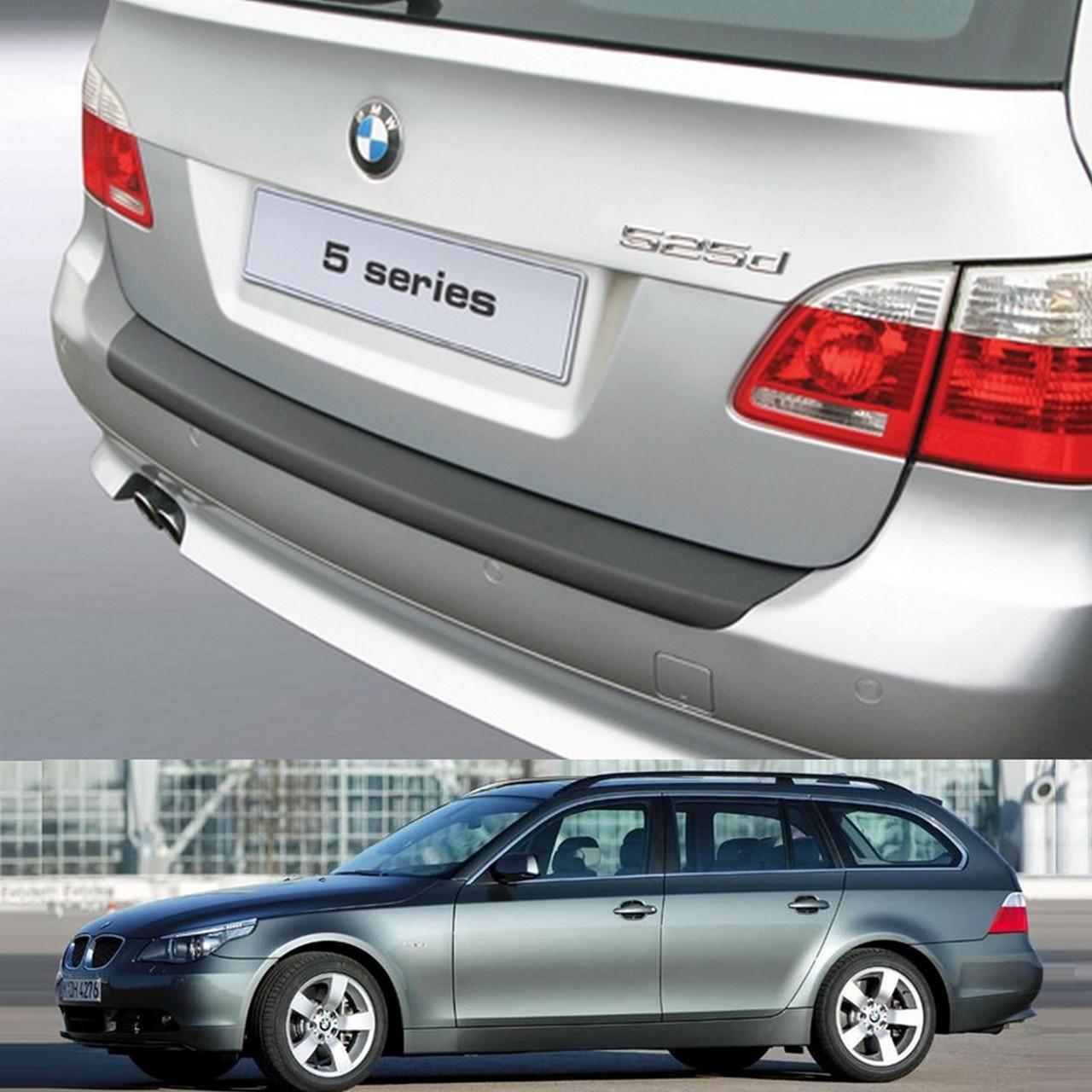 BMW 5-series E61 Touring 2004-2010 пластиковая накладка заднего бампера