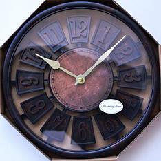 Часы настенные (разные цвета) 8693