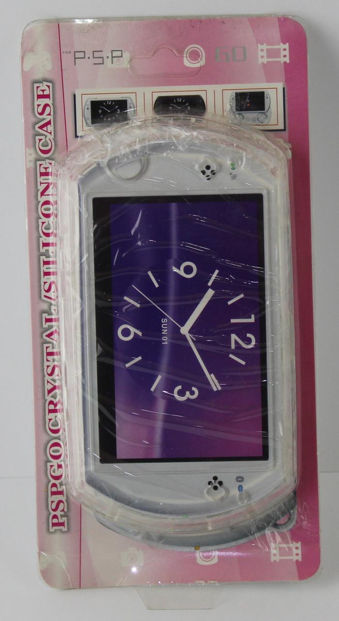 Чехол силикон для Sony PSP Go Crystal Case