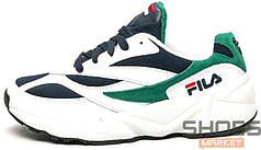 Мужские кроссовки Fila Wenom White Green