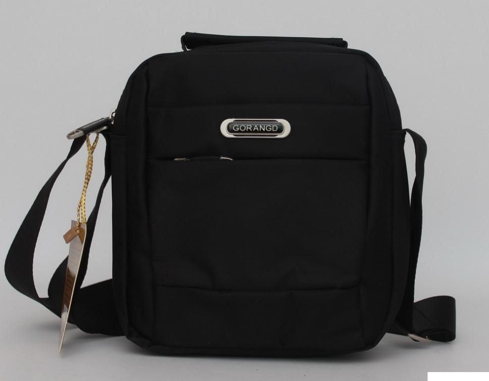 83ab34bfd241 Оригинальная сумка-мессенджер для стильного мужчины Gorangd Черный, цена  330 грн., купить Новомосковск — Prom.ua (ID#743026345)