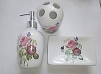 Набор для ванной комнаты 3 предмета