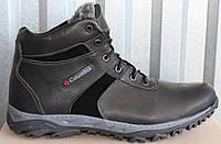 Ботинки мужские зимние больших размеров из натуральной кожи от производителя модель МВ-02