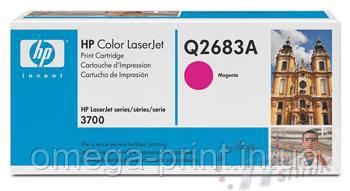 Заправка картриджа HP CLJ 3700, (Q2683A) Magenta