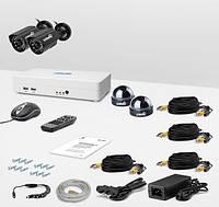 Комплект видеонаблюдения «установи сам» Страж Смарт-4 4М (УЛ-700К-2.КУ-700К-2)