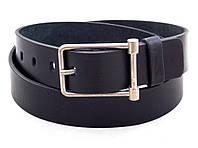 Мужской черный кожаный ремень Mr. Belt, фото 1